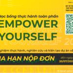 Thông báo gia hạn vòng nộp đơn Ứng tuyển Chương trình Empower Yourself